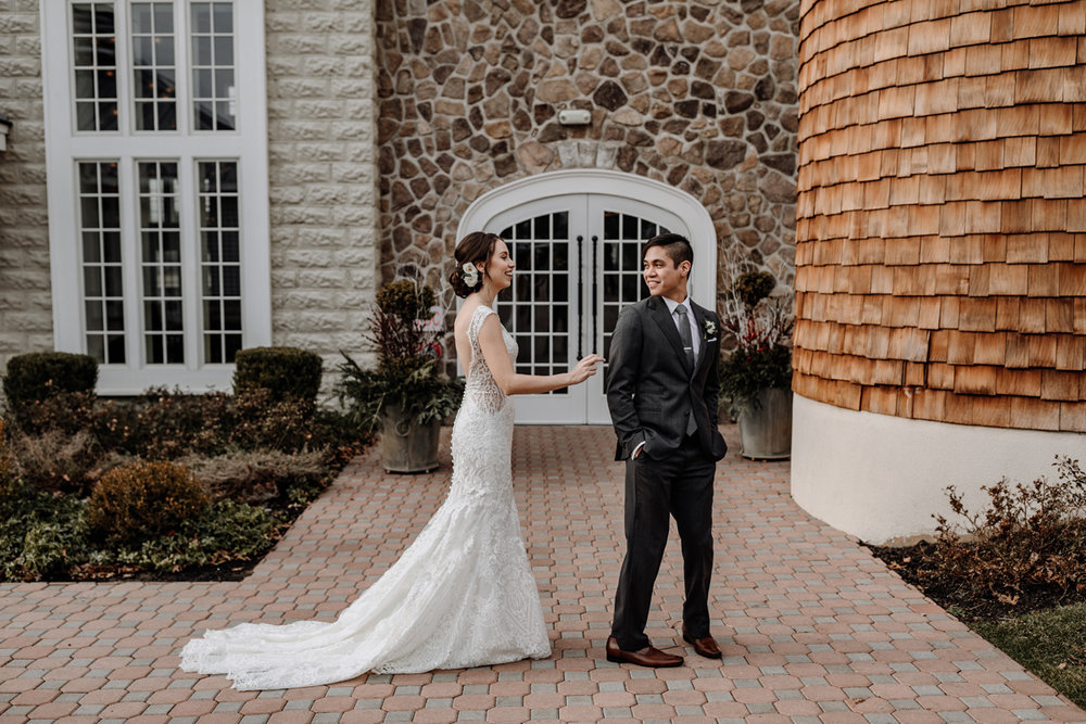 bride-and-groom-first-look-ryland-inn-wedding