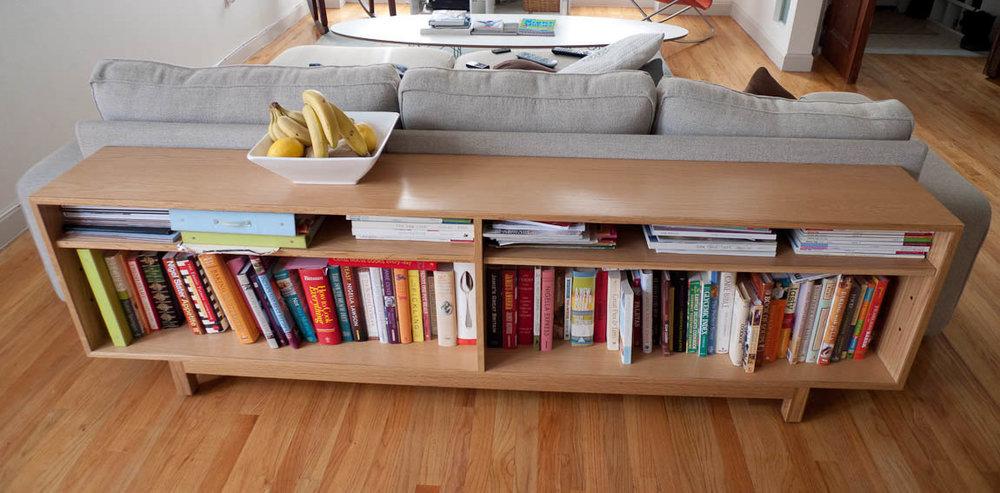 WhiteOakBookshelf
