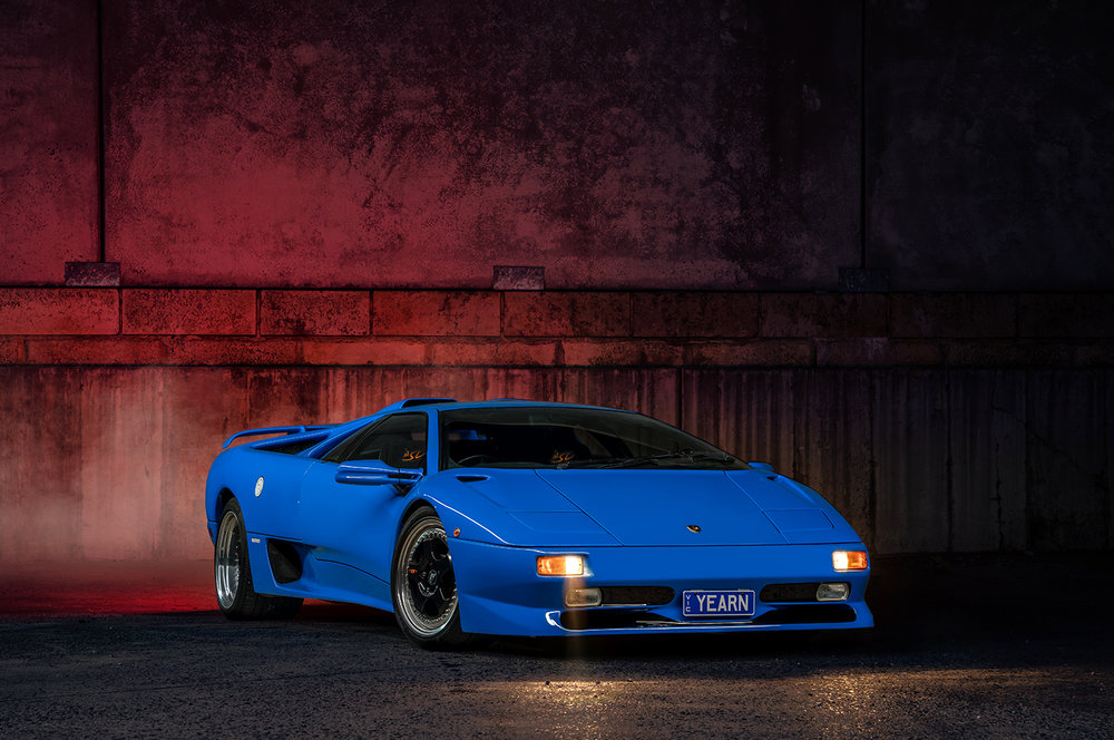 Lamborghini Diablo Sv Photoshoot Jan Glovac Photography