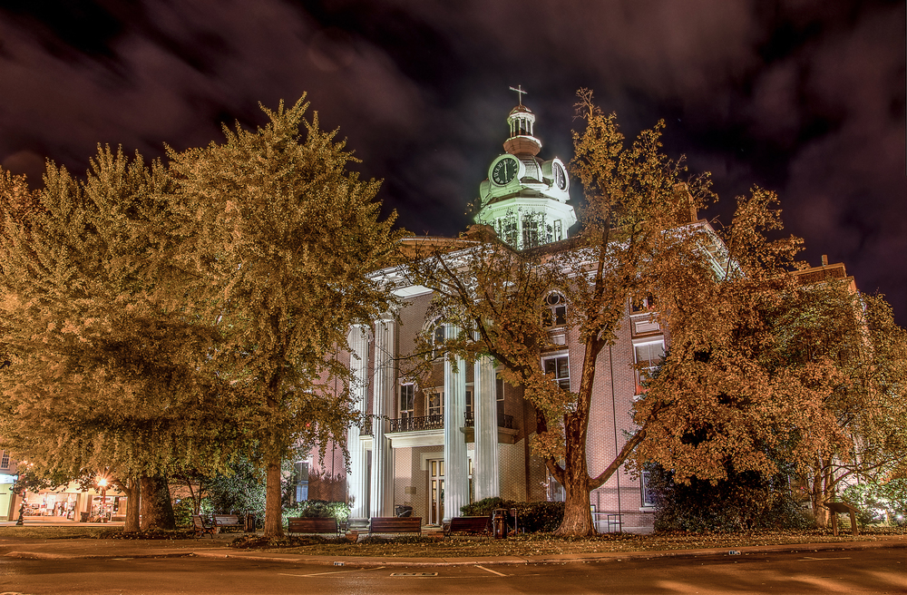 Another HDR image of the Court House, Downtown Murfreesboro, Tennessee