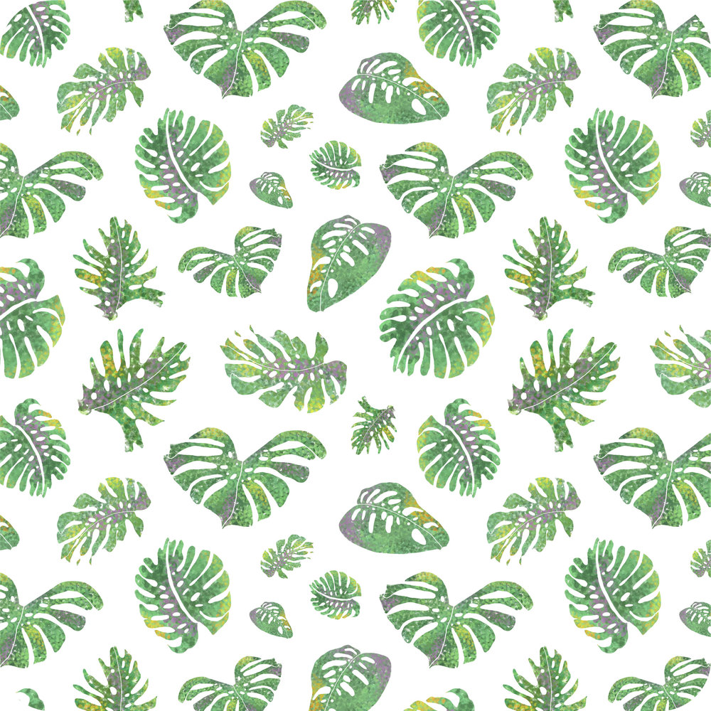 Monstera Deliciosa Pattern