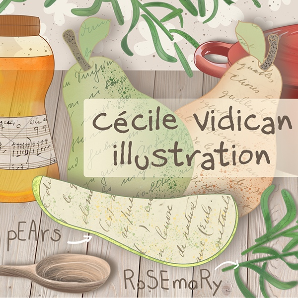 Cécile Vidican Illustration