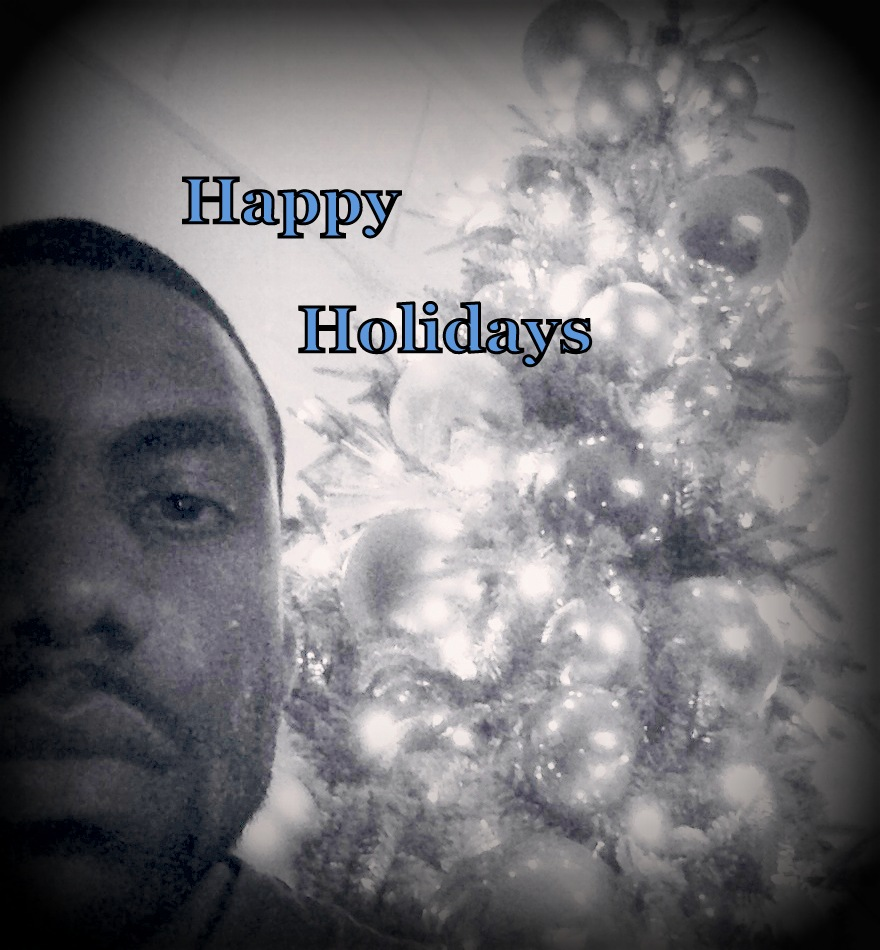 Happy Holidays art work @ BLUE County LLC 2013