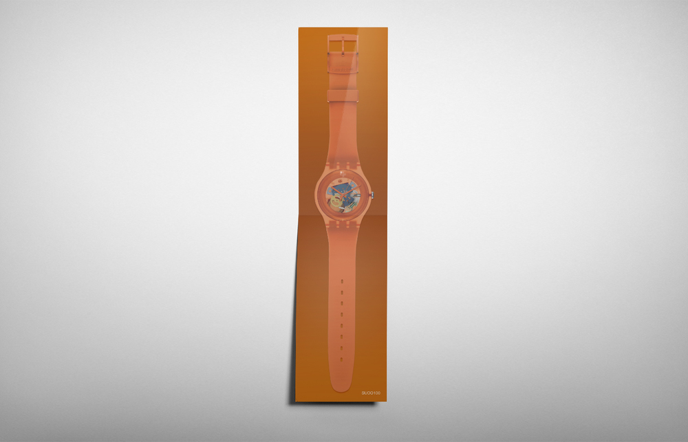 SWATCH - NEW COLLECTION FLYER