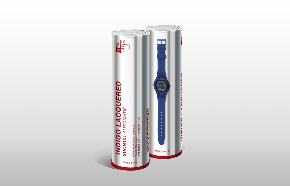 SWATCH - NEW WATCH PACKAGE DESIGN
