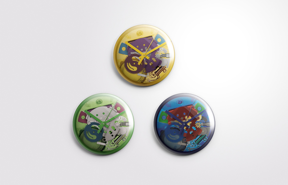 SWATCH - NEW COLLECTION BUTTONS