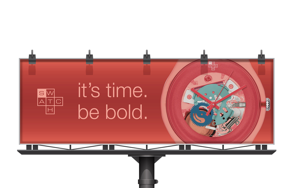 SWATCH - NEW COLLECTION BILLBOARD
