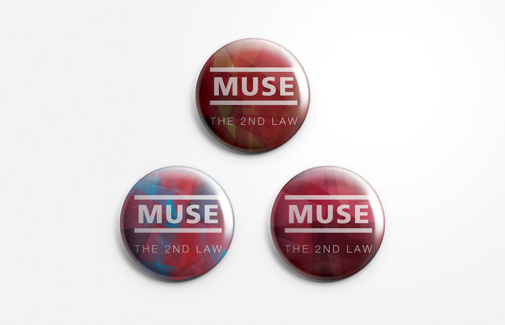MUSE - TOUR BUTTONS