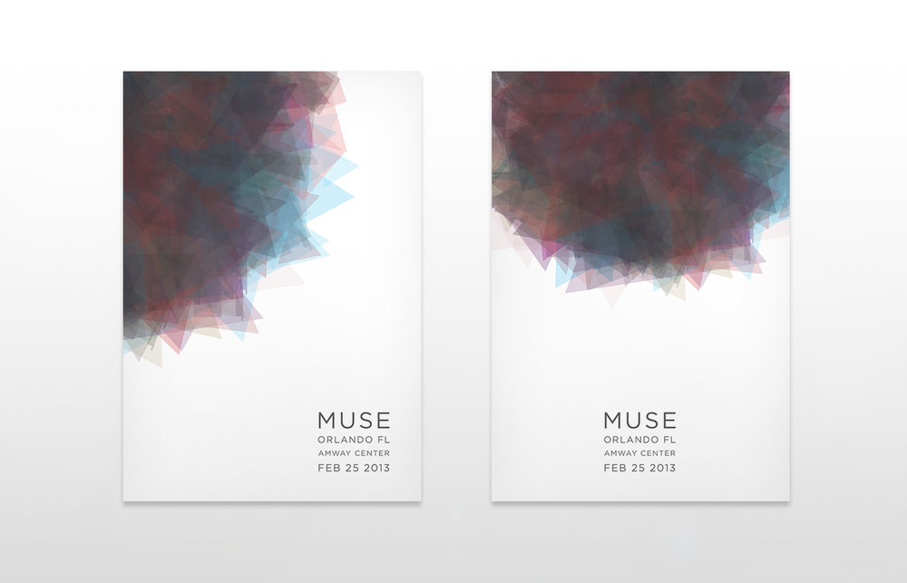 MUSE - TOUR POSTERS