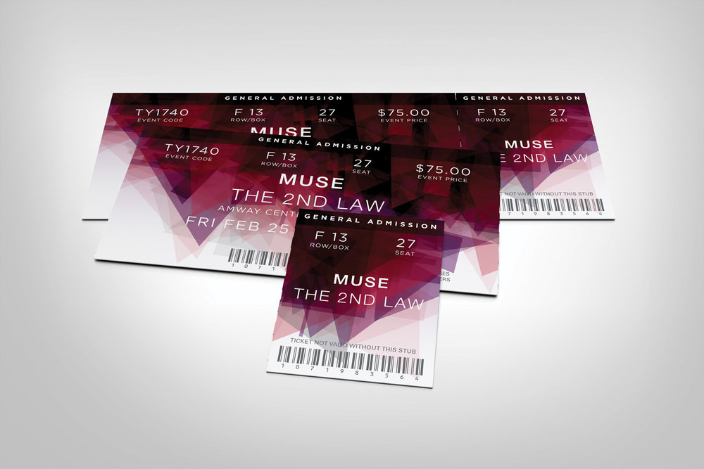 MUSE - CONCERT TICKETS