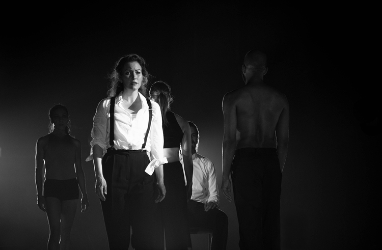 FEAST with NOW-ID  MAY 2014  Choreography | Charlotte Boye-Christensen  Dancers | Jo Blake, Yumelia Garcia, Jenn Freeman  Actors | Alexandra Harbold, Robert Scott Smith  Music | Jesper Egelund  Text | Troy Deutsch  Photos courtesy of David Newkirk and Dena Mt Eaton