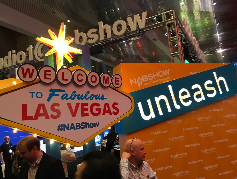 Entrance to NAB Show