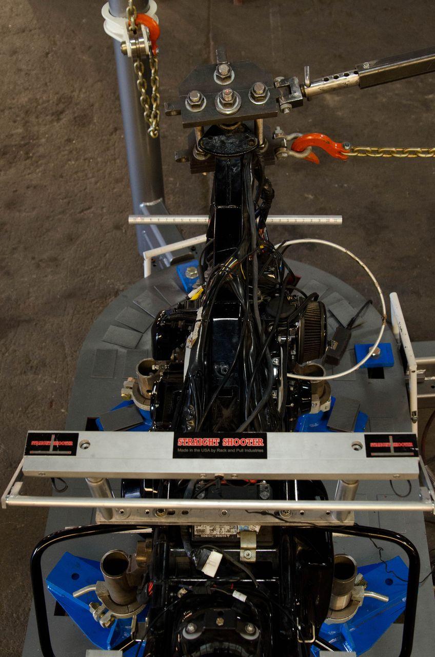 Pull Frame to Align Live Laser Measuring