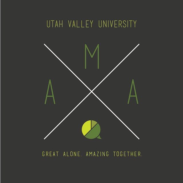 Check out our new AMA t-shirt! Join AMA and you can get one for free! You know you want to! #uvuama uvuama.com/ama-leadership