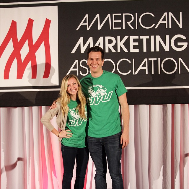 Neal Ferrell and Baylee Wells made it to the semi finals out of 98 students in the marketing strategy at AMA ICC in New Orleans!  Join our AMA club and put in action your marketing skills! #uvuama