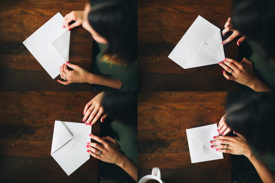 Homemade Envelopes Treasures Travels