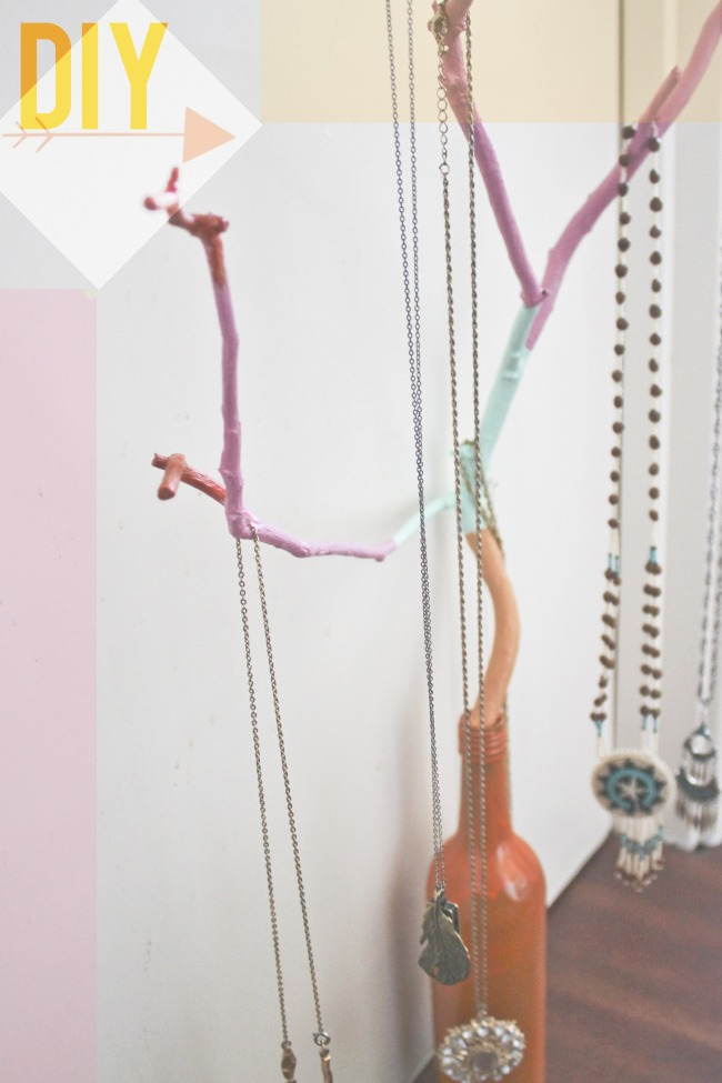 Image result for Jewelry tree diy