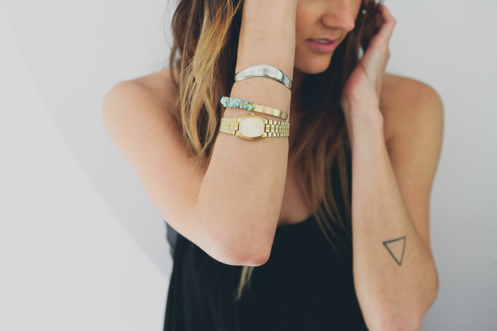 Bethany's pick - Turqoise Brass Cuff Bracelet