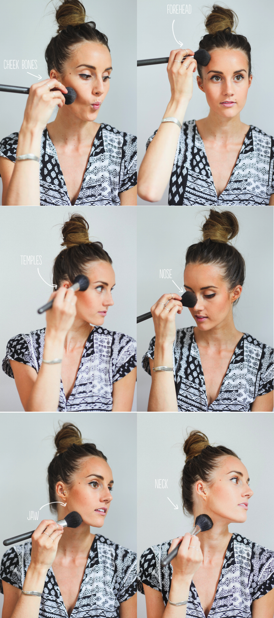 Make Up Tutorial // Applying Bronzer