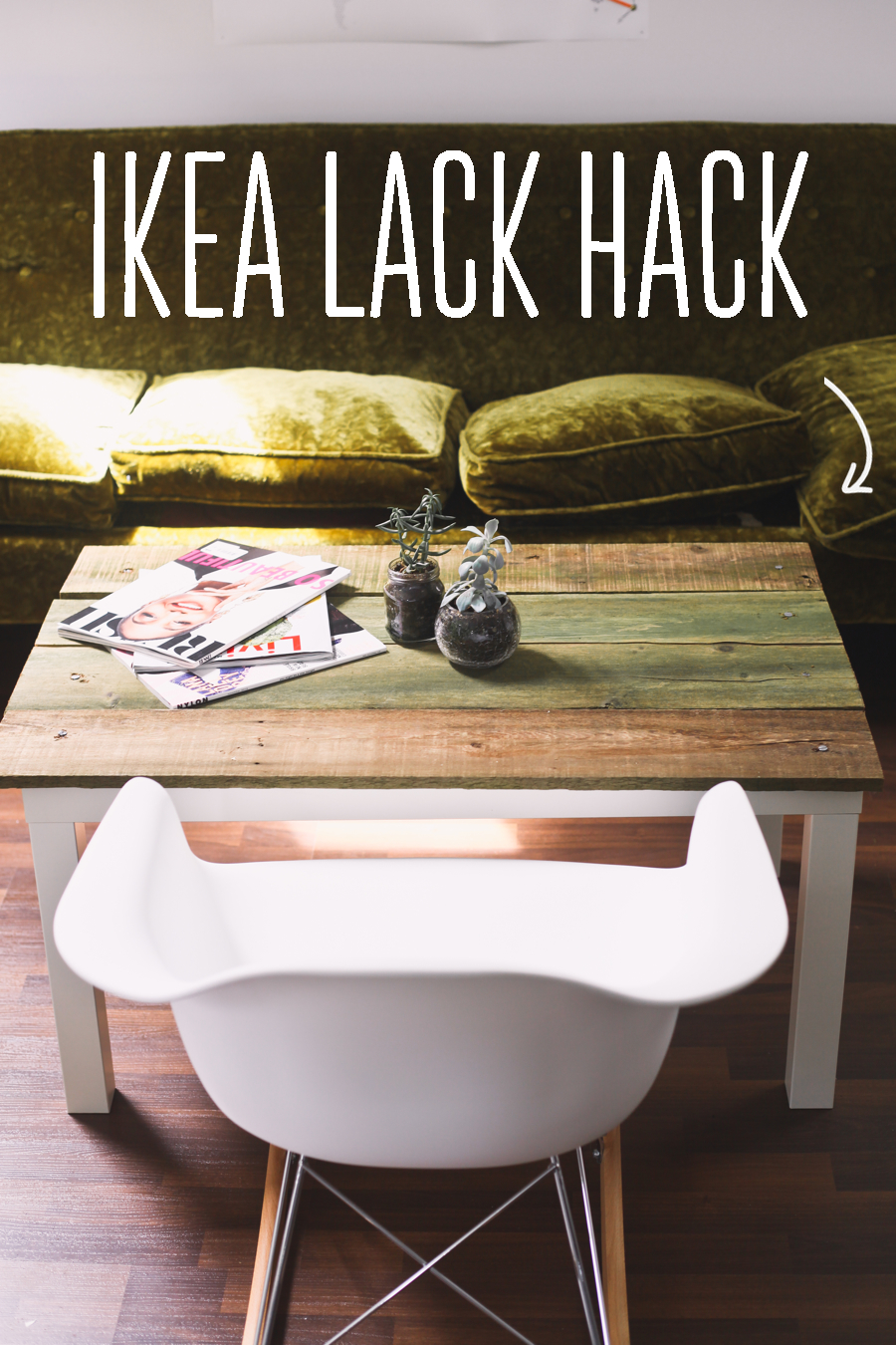 ikea hack lack coffee table treasures travels. Black Bedroom Furniture Sets. Home Design Ideas