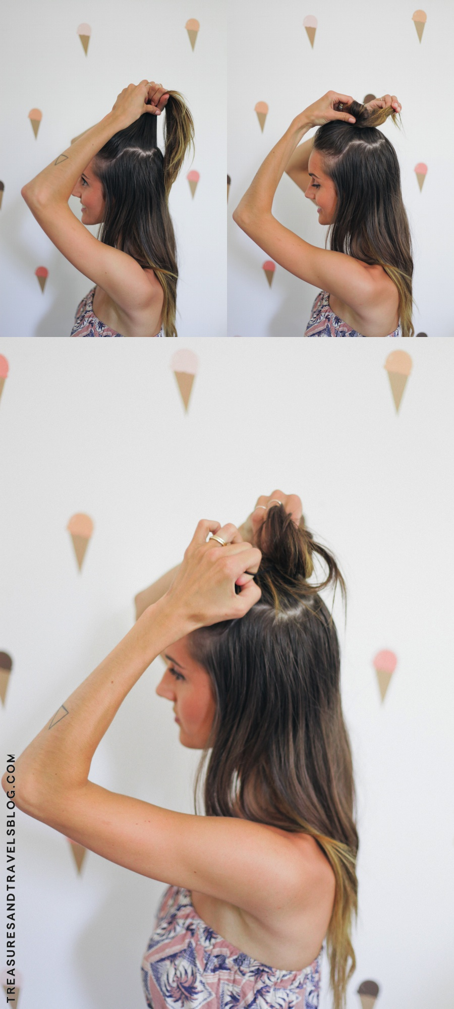 Hair Tutorial X2 Half Up Top Knot For Short Amp Long Hair