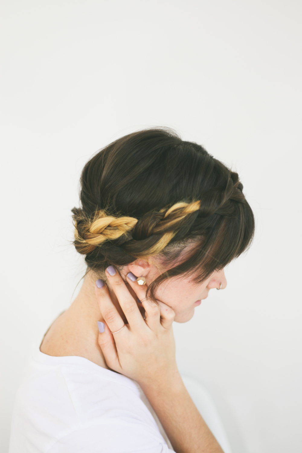 Hair Tutorial // Braided Crown Read >