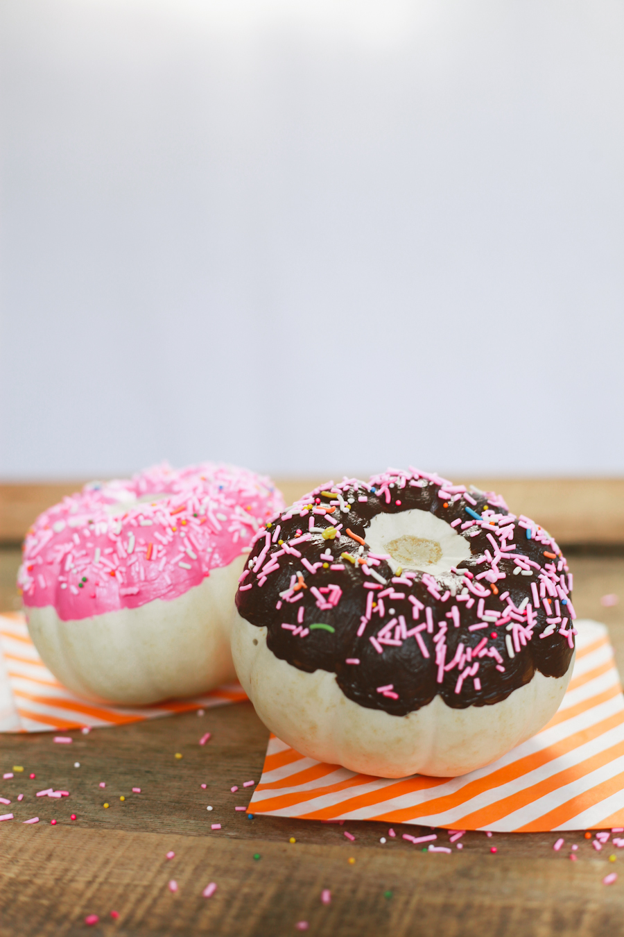 DIY Donut Pumpkins Read >