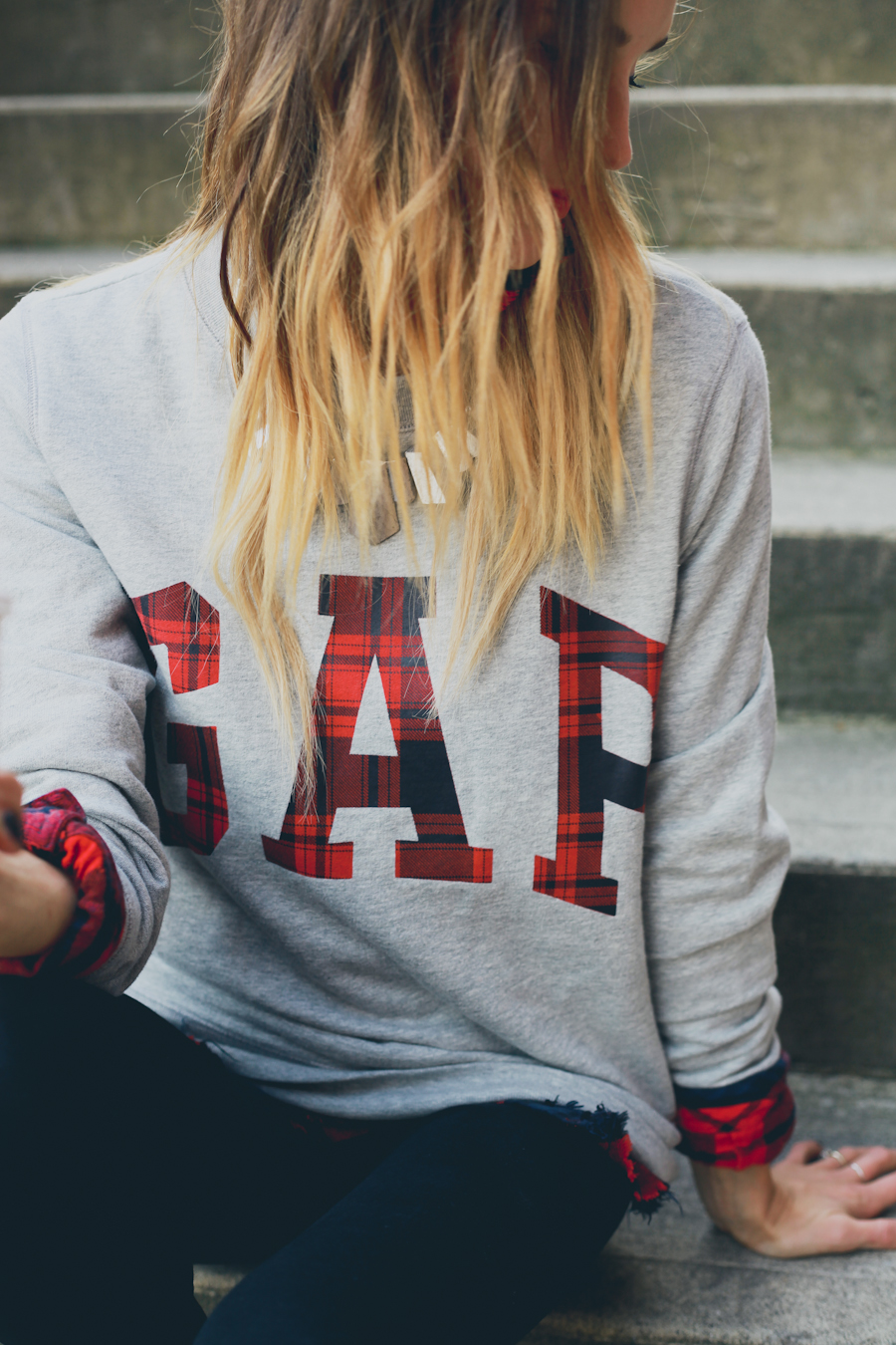 GAP Styld.by - Plaid-Grey Sweater-9.jpg