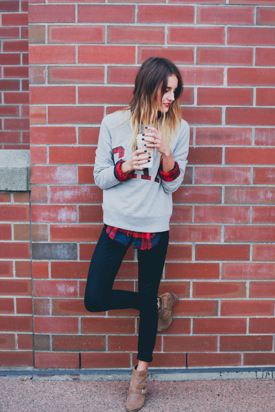 GAP Styld.by - Plaid-Grey Sweater-1.jpg