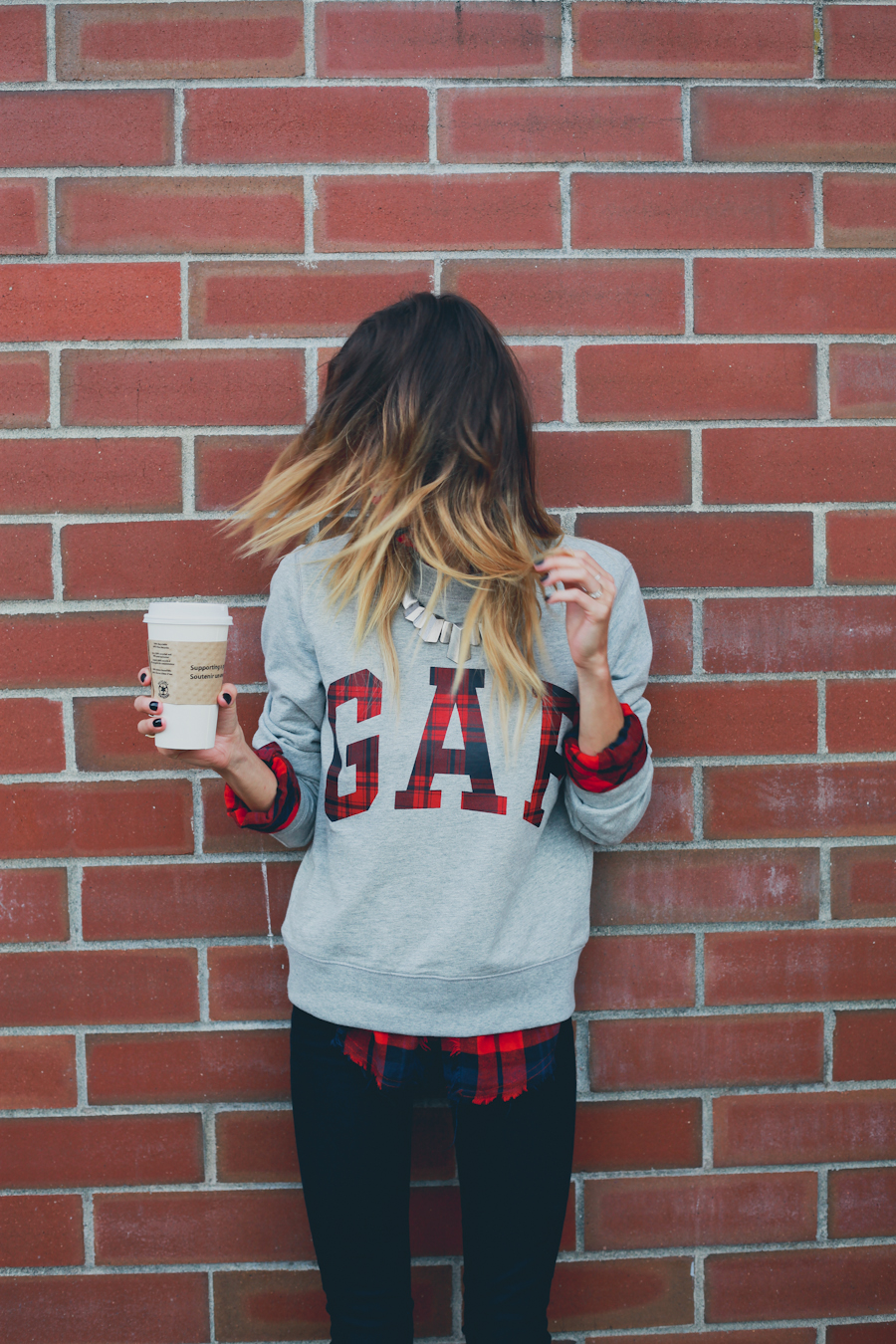 GAP Styld.by - Plaid-Grey Sweater-10.jpg
