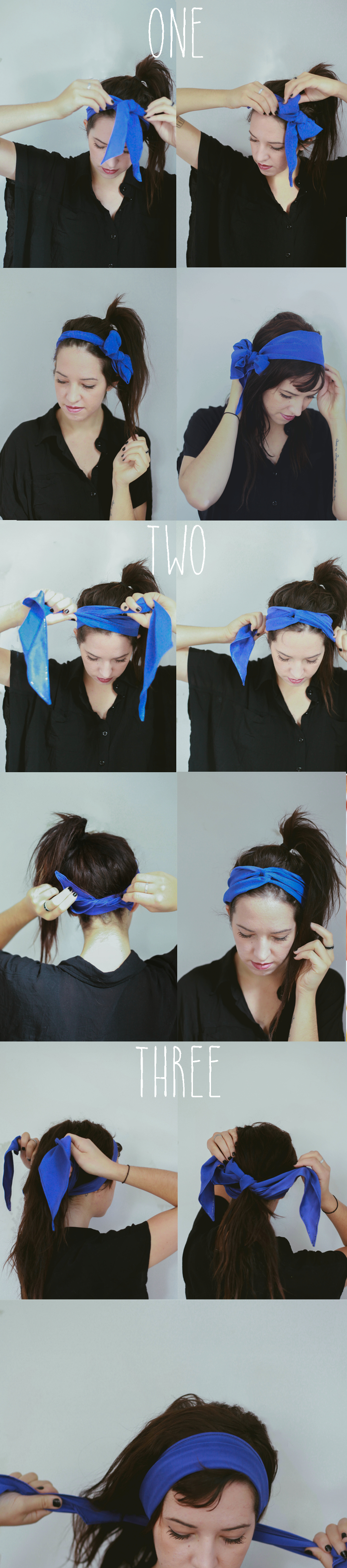 Hair tutorial 4 ways to tie the head scarf treasures travels well sometimes it doesnt work out so easily so here is a tutorial on 4 different ways you can wear one we received this beautiful head scarf from stella ccuart Gallery