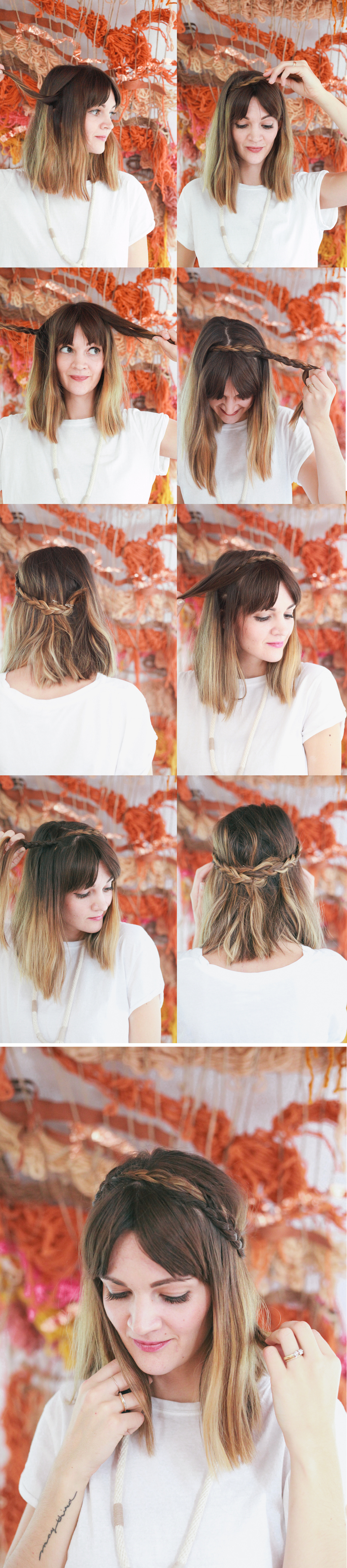 Half Up Braided Crown Tutorial  Read >