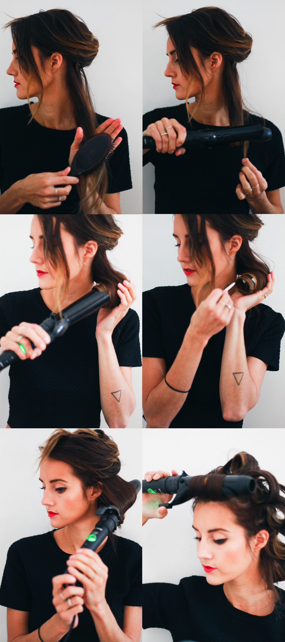 Bombshell Retro Waves Hair Tutorial - Steps.jpg