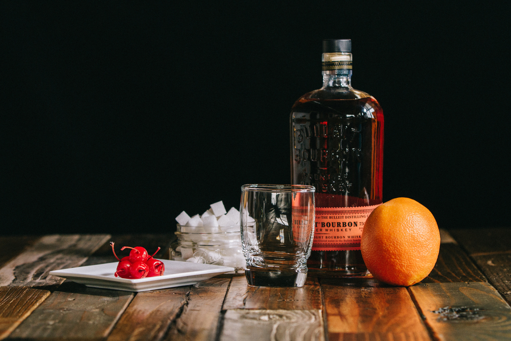 Month Of Gentlemen // Rye/Bourbon Old-Fashioned — Treasures ...