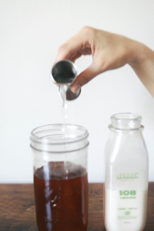 Iced Ginger Chai Tea Latte — Treasures & Travels