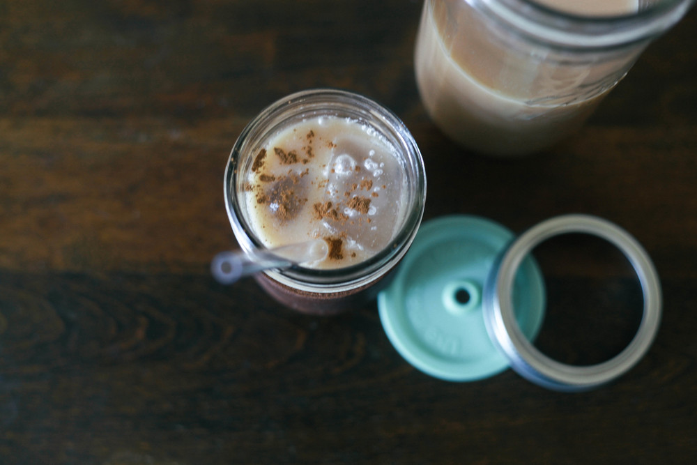 Iced Ginger Chai Tea Latte — Treasures & Travels