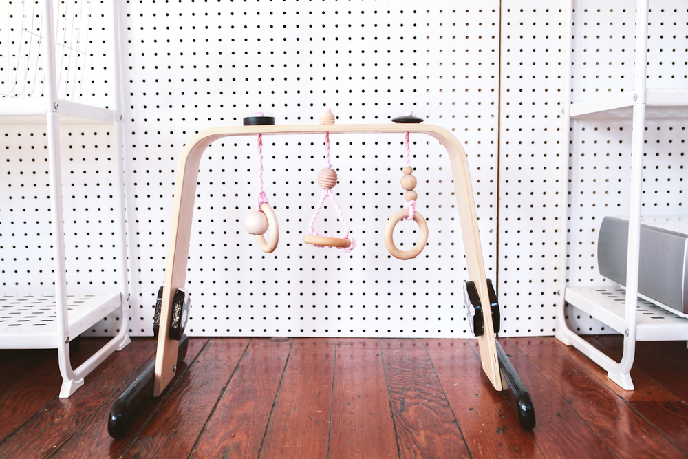 ikea hack baby gym treasures travels. Black Bedroom Furniture Sets. Home Design Ideas