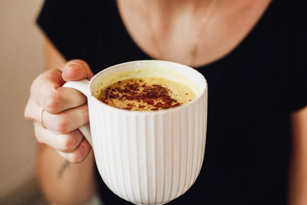 Turmeric Almond Latte
