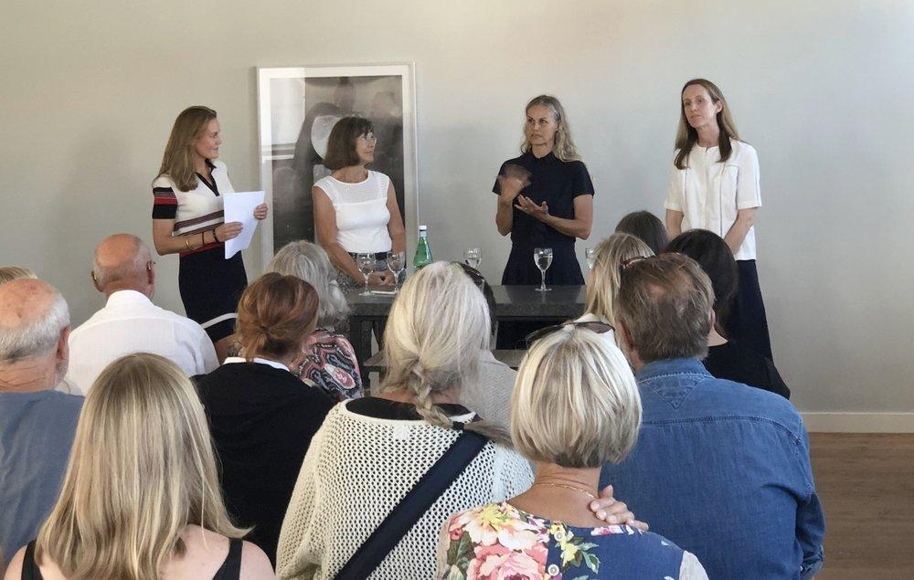 Ann-Christin Nykvist, Maria Friberg, Amelie Edlund