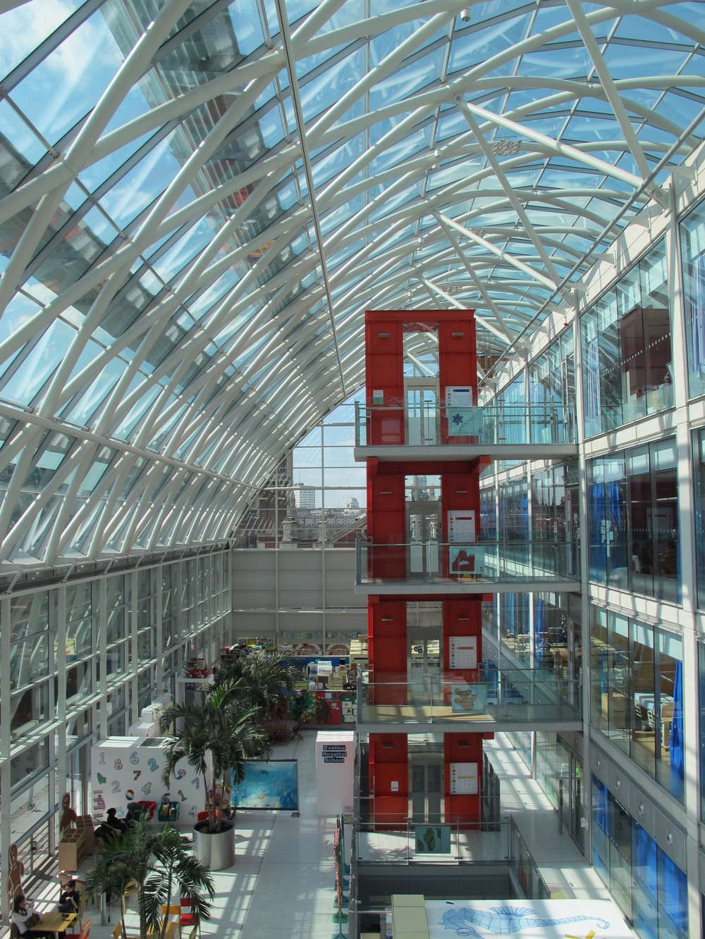 Evelina Children's Hospital Atrium (Daniel Tweedie)