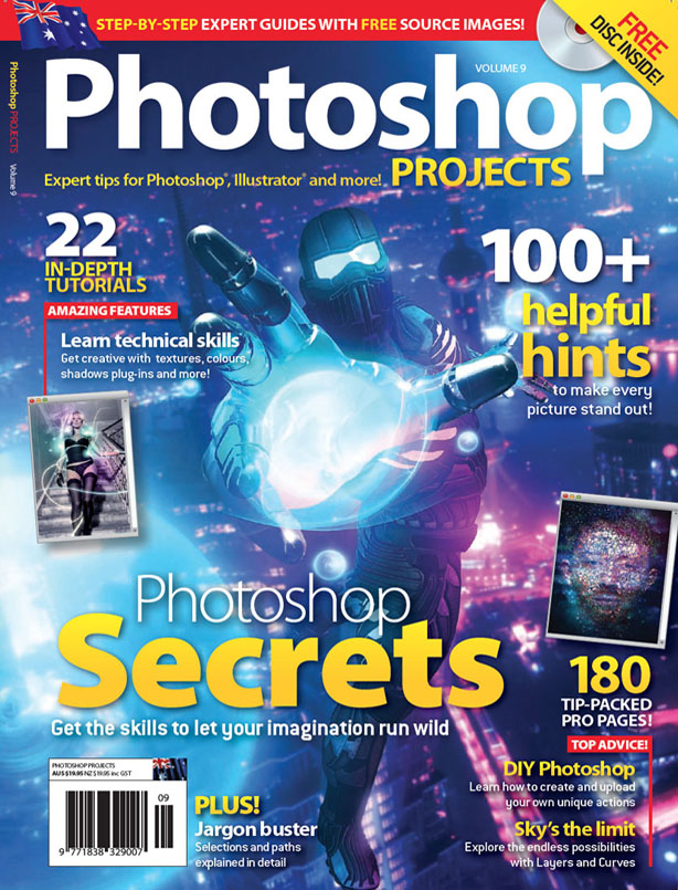 2012  Magazine ,   Photoshop Project Australia Dec12 vol.10 p.30-33, 177