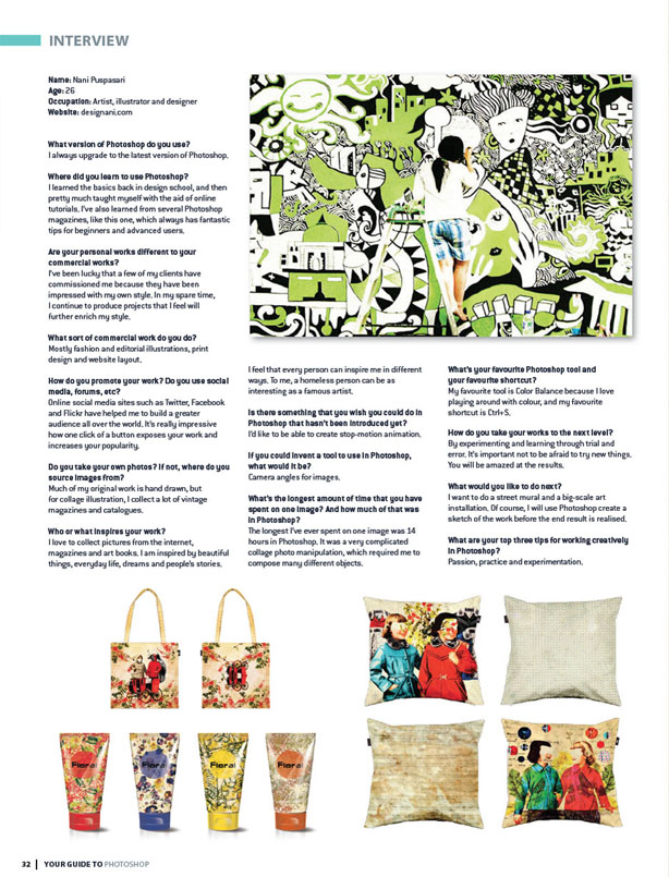 2012  Magazine ,  Photoshop Project Australia August12 p.70-73, 146-149