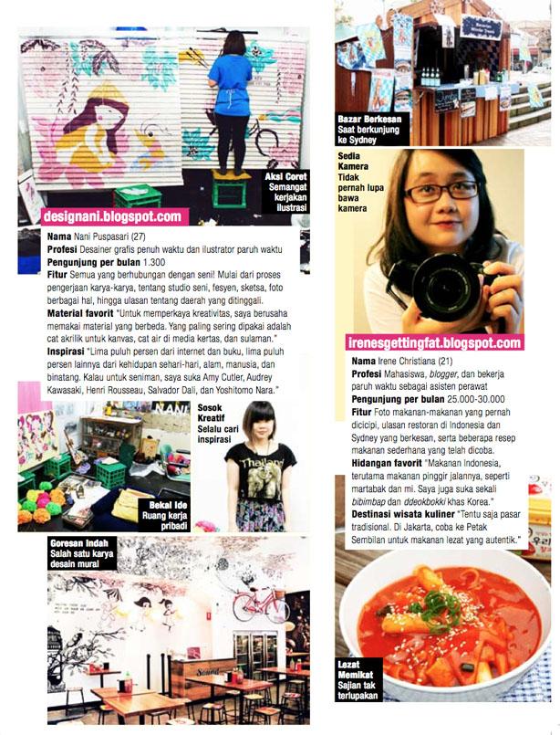 2013  Magazine,  Joy August13 p.41