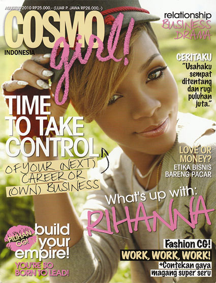 2010  Magazine,    COSMOgirl! Indonesia ed.October10 p.85