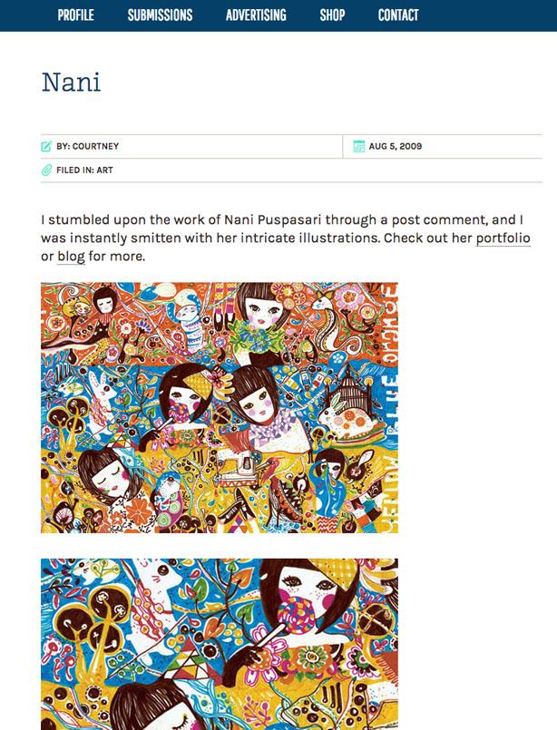 2009  Online,   DesignWorkLife
