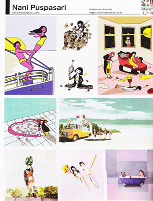 Book  - Japan Illustrator's Association Annual