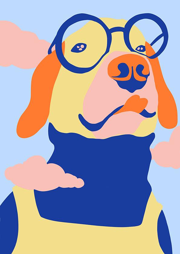 FASHIONISDOGGO   series, portrait, animal lover