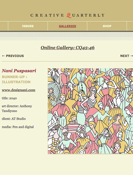 Online  -  Creative Quarterly 45-46