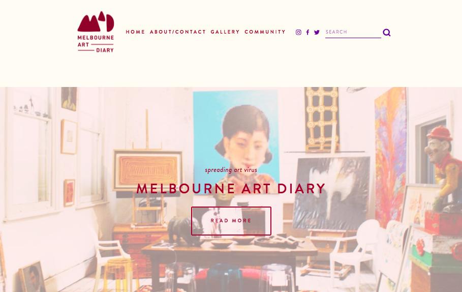 MELBOURNE ART DIARY   blog, photography