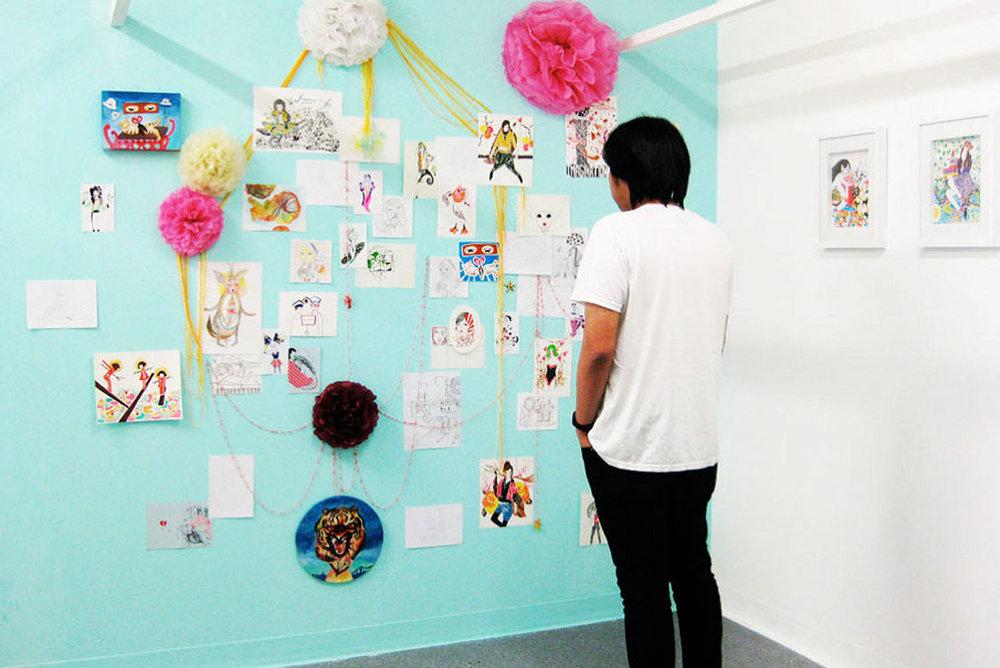 TIMELESS   installation, mixed media
